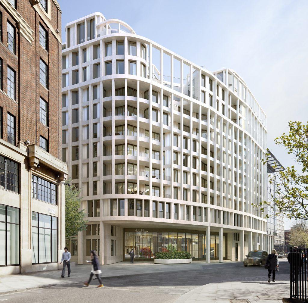 CGI of View from John Islip Street
